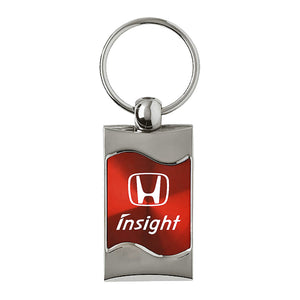 Honda Insight Keychain & Keyring - Red Wave