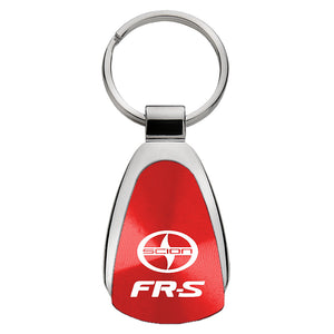 Scion FR-S Keychain & Keyring - Red Teardrop