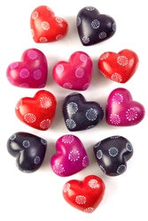 African Soapstone Hearts-Notions-Swahili-The Sated Sheep