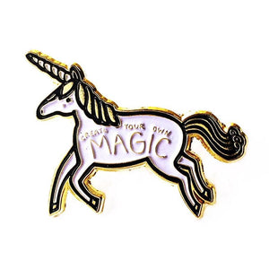Gingiber Pins-Notions-Faire-Unicorn-The Sated Sheep