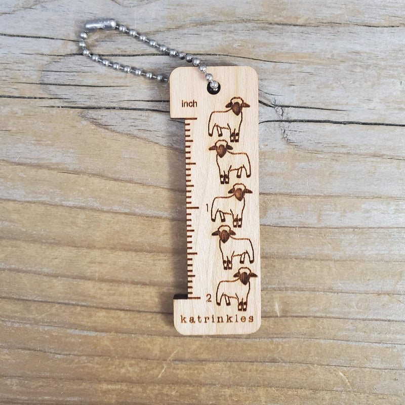 2 Inch Sheep Ruler-Notions-NNK Press-The Sated Sheep