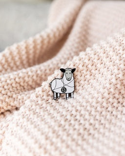 Tangled Sheep K2tog Pins-Notions-Quince and Co-white-The Sated Sheep