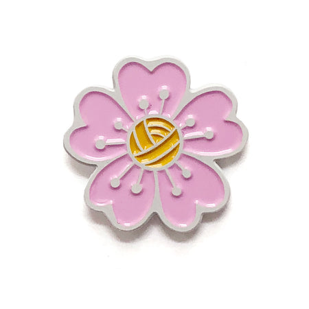 Cherry Blossom ShelliCan Pins-Notions-Shelli Can-The Sated Sheep