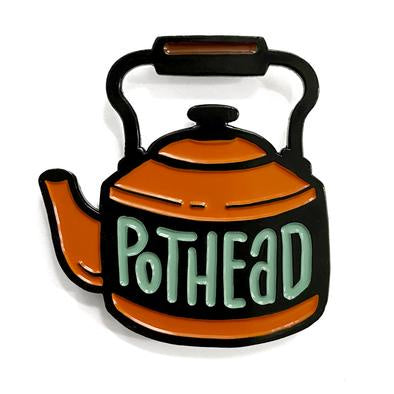 Pothead ShelliCan Pins-Notions-Shelli Can-The Sated Sheep