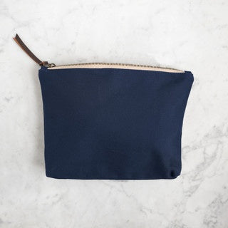 Canvas Tool Pouch-Bags-Quince and Co-blue-The Sated Sheep