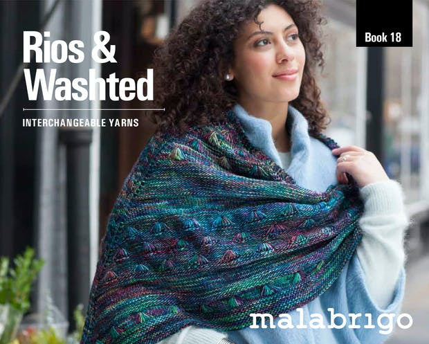 Book 18 Malabrigo Rios and Washted-Books-Malabrigo-The Sated Sheep