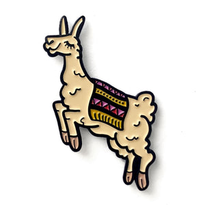 Llama Pins-Notions-Shelli Can-The Sated Sheep