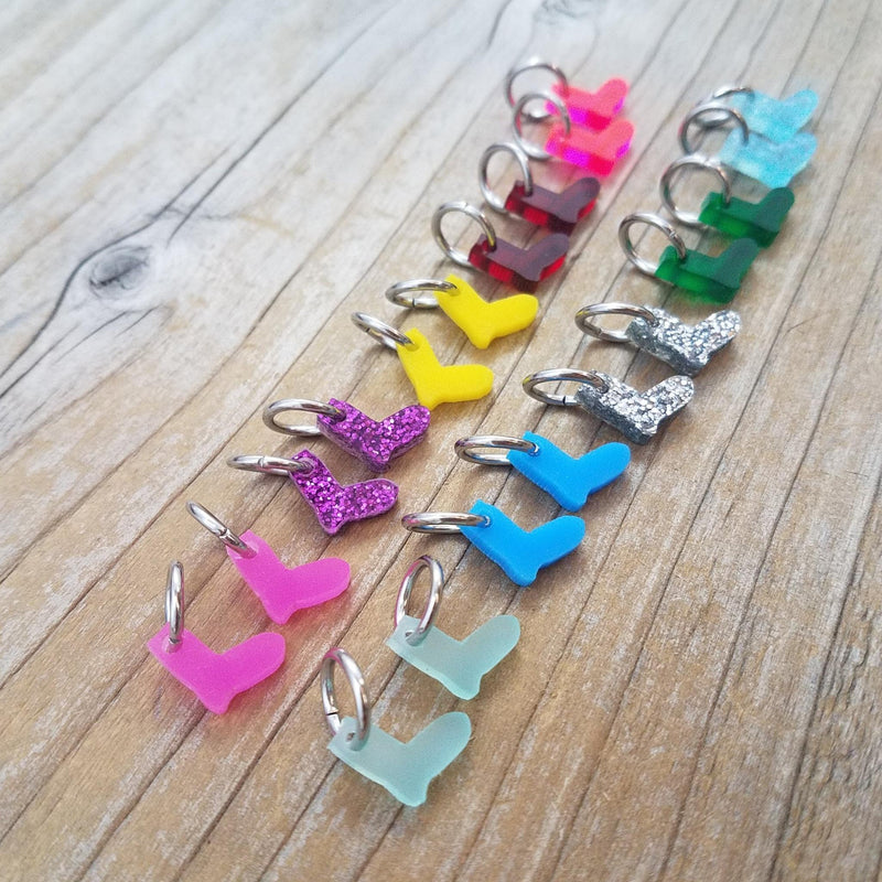 Katrinkles Acrylic Stitch Markers-Notions-Katrinkles-The Sated Sheep