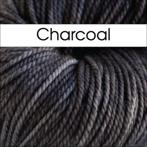 It Could Be Worsted-Yarn-Anzula-Charcoal-The Sated Sheep