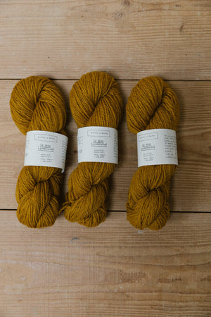 Le Gros Lambswool-Yarn-Biches et Buches-Dark Yellow-The Sated Sheep