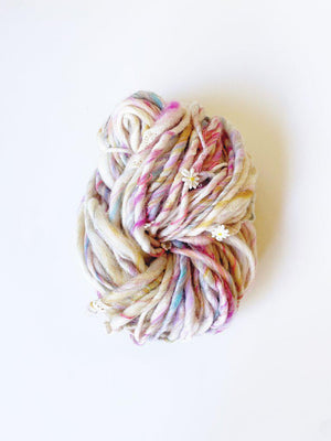 Daisy Chain-Yarn-Knit Collage-Grand Prismatic-The Sated Sheep