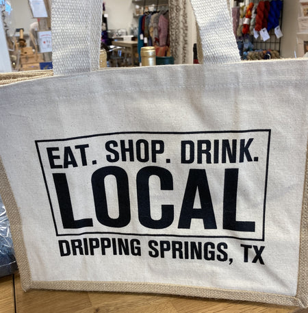 Shop Local Tote Bag-Notions-Faire-The Sated Sheep