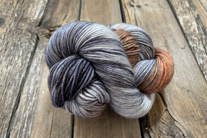 Classy Skein and a Half Worsted!-Yarn-Dream in Color-Leather Wave-The Sated Sheep