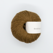 KFO Soft Silk Mohair Lace-Yarn-Knitting for Olive-Nut Brown-The Sated Sheep