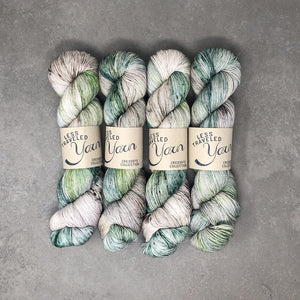 Sparkle-Yarn-Traveling Yarn-Painted Ponderosa-The Sated Sheep