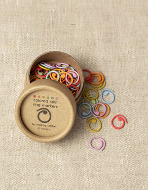 Split Ring Stitch Markers-Notions-CocoKnits-The Sated Sheep