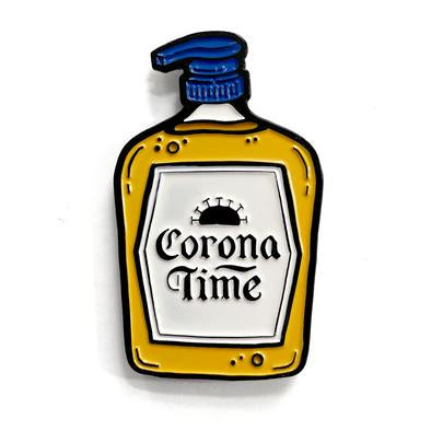 Corona Time ShelliCan Pins-Notions-Shelli Can-The Sated Sheep