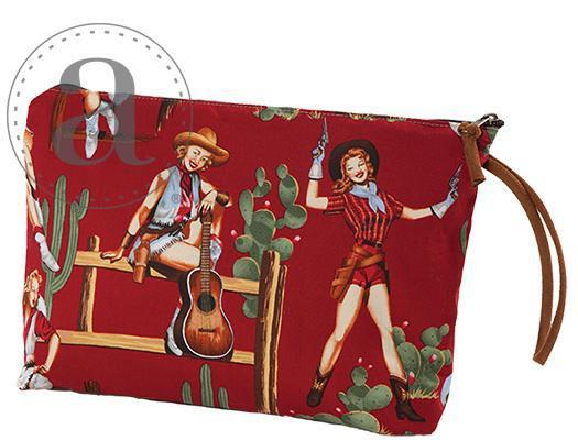 Atenti Grand Pouch-Bags-Atenti-Cowgirl Red-The Sated Sheep