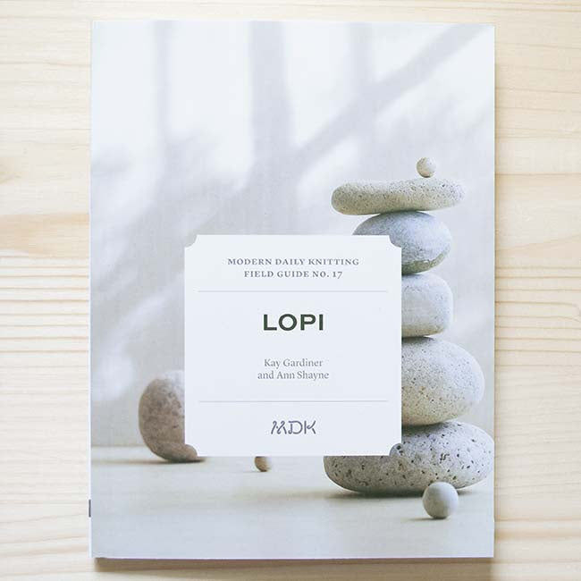 MDK Field Guides Number 17- Lopi-Books-Mason Dixon Knitting-The Sated Sheep