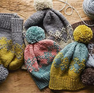 Basic Stranded Colorwork! The Stranded Diamonds Hat! Knit a Gift with Carrie!-class-The Sated Sheep-The Sated Sheep