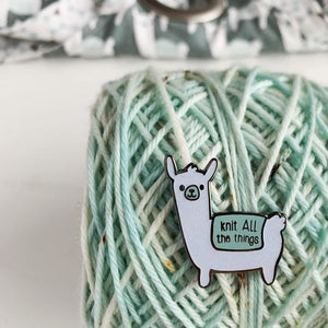 Binkwaffle Pin-Notions-Binkwaffle-Knit All the Things-The Sated Sheep