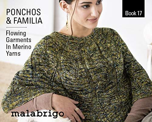 Book 17 Ponchos & Familia-Books-Malabrigo-The Sated Sheep