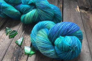 Butterfly BFL-Yarn-Dream in Color-Brilliant-The Sated Sheep