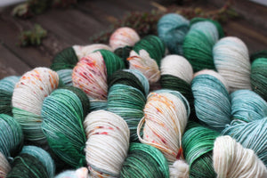 Butterfly BFL-Yarn-Dream in Color-Cg Laurel-The Sated Sheep