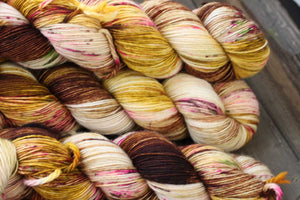 Butterfly BFL-Yarn-Dream in Color-Element 79-The Sated Sheep