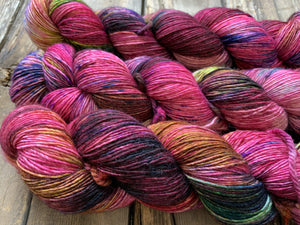 Butterfly BFL-Yarn-Dream in Color-Her Charisma-The Sated Sheep