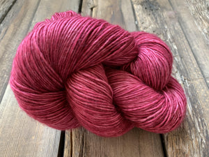 Butterfly BFL-Yarn-Dream in Color-Lay a Rose-The Sated Sheep