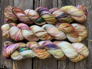 Butterfly BFL-Yarn-Dream in Color-Loose Gems-The Sated Sheep