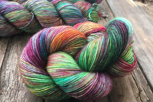 Butterfly BFL-Yarn-Dream in Color-Mod Squad-The Sated Sheep