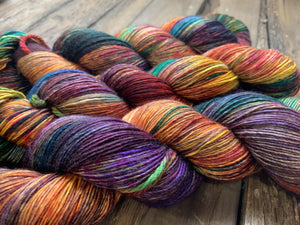 Butterfly BFL-Yarn-Dream in Color-Old Vine-The Sated Sheep