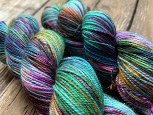 Butterfly BFL-Yarn-Dream in Color-Regency-The Sated Sheep