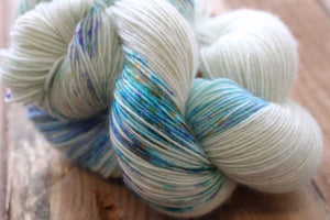 Butterfly BFL-Yarn-Dream in Color-Whisper-The Sated Sheep