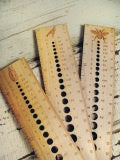 "Needle Gauge Rulers 4""-Notions-Fripperies-The Sated Sheep"