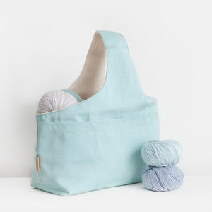 Canvas Project Bag-Bags-nonohana-Blue-The Sated Sheep