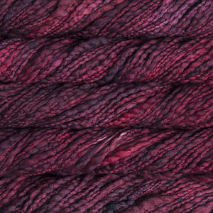 Caracol Super Bulky-Yarn-Malabrigo-033 Cereza-The Sated Sheep
