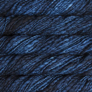 Caracol Super Bulky-Yarn-Malabrigo-150 Azul Profundo-The Sated Sheep
