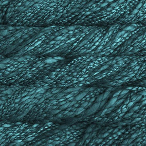Caracol Super Bulky-Yarn-Malabrigo-412 Teal Feather-The Sated Sheep