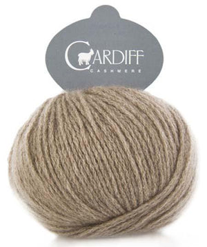 Cardiff Cashmere Classic-Yarn-Trendsetter-511 Light Brown-The Sated Sheep