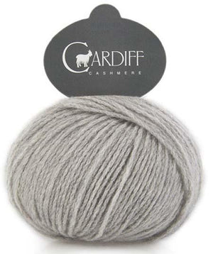 Cardiff Cashmere Classic-Yarn-Trendsetter-518 Light Grey-The Sated Sheep