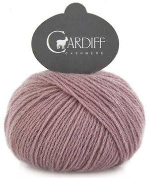 Cardiff Cashmere Classic-Yarn-Trendsetter-603 Dusty Rose-The Sated Sheep