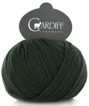 Cardiff Cashmere Classic-Yarn-Trendsetter-624 Forest-The Sated Sheep