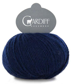 Cardiff Cashmere Classic-Yarn-Trendsetter-638 Marine-The Sated Sheep