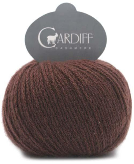 Cardiff Cashmere Classic-Yarn-Trendsetter-684 Rosewood-The Sated Sheep