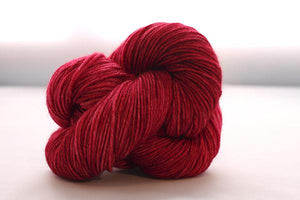Bonnie Superfine Micron 2-Ply-Yarn-Dream in Color-Charged Cherry-The Sated Sheep