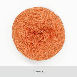 Coast Fingering-Yarn-Holst Garn-Amber-The Sated Sheep