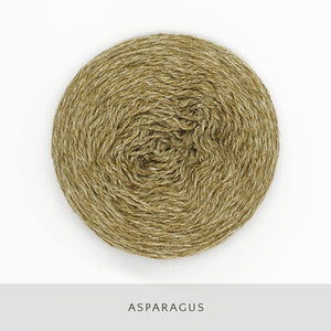 Coast Fingering-Yarn-Holst Garn-Asparagus-The Sated Sheep